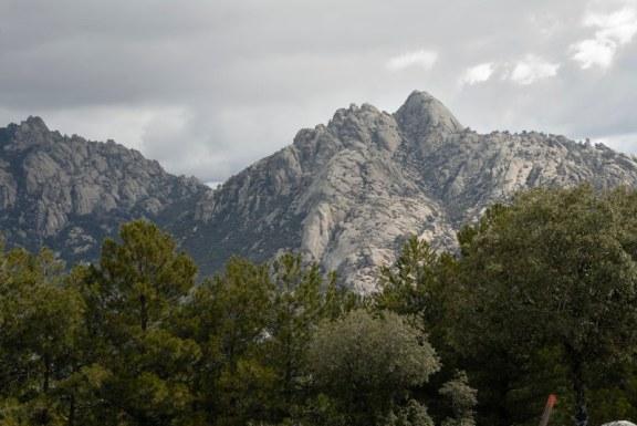 Vista desde el Collado de Valdehalcones