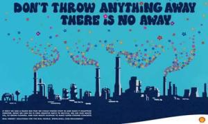 Imagen publicitaria de la compañía petrolera Shell