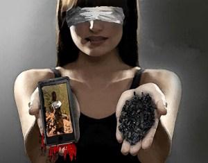 ¿Quieres mancharte las manos de sangre?