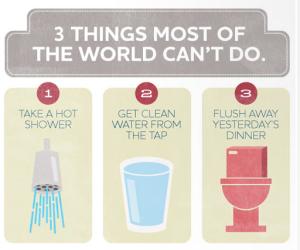 3 cosas la mayoría del mundo no puede hacer