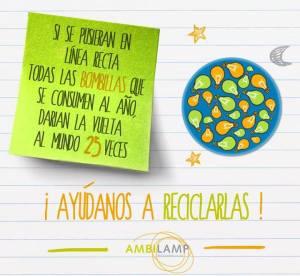 Campaña de concienciación de AMBILAMP