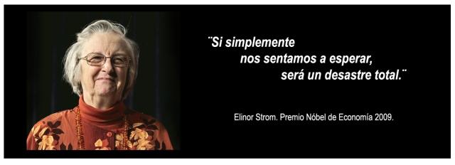 Elinor Ostrom. Premio Nóbel de Economía 2009.