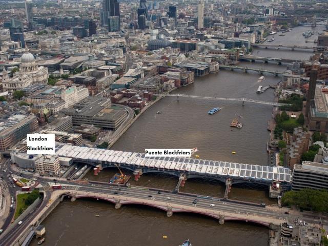 puente Blackfriars, Londres