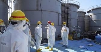 Tanques de agua radiactiva (Fotografía: EFE)