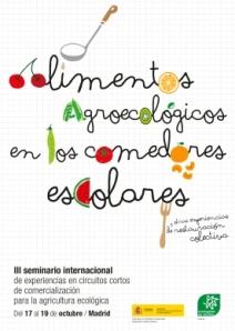 seminario alimentos agroecológicos en comedores escolares