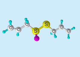 Composición química de la Alicina.