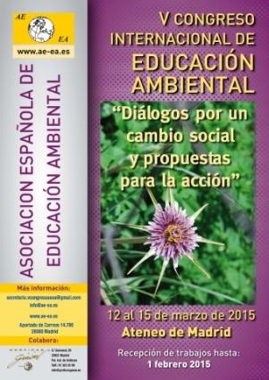 Cartel_V_Congreso_Ed_Amb