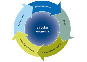 Phases of a circular economy model