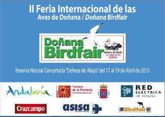 cartel II feria internacional de las aves en doñana