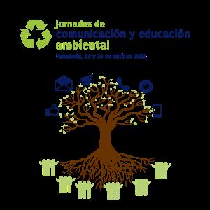 Cartel de las Jornadas de Comunicación y Educación Ambiental